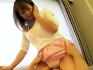 【女子大生中出しセックスadaruto動画】アンケート調査で騙された美人JDが素股でパンツグチョ濡れからの生挿入ww