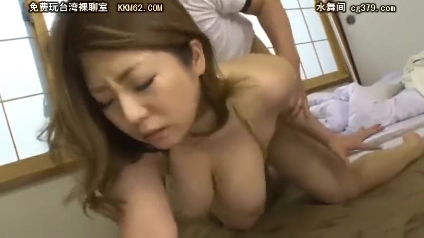 光沢レオタード_巨乳熟女_着衣セックス_adaruto動画02