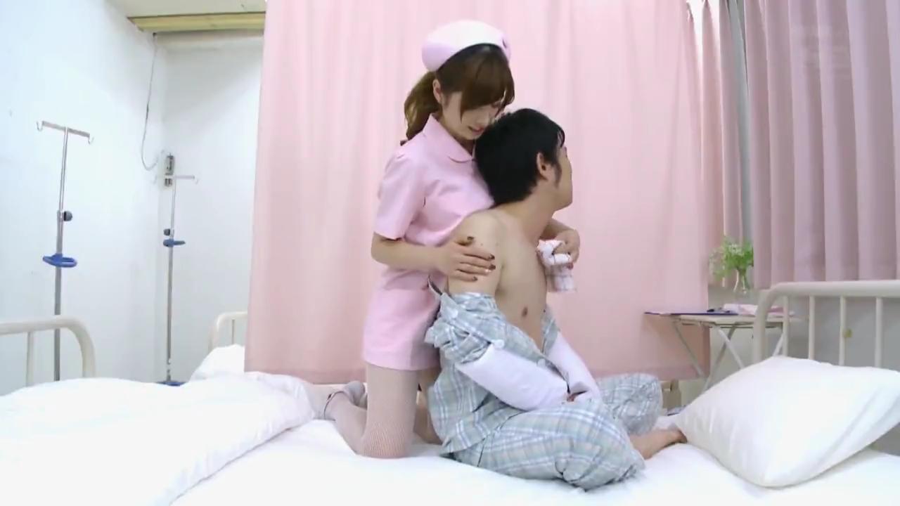 巨乳ナース_病室_着衣セックス_adaruto動画01