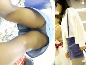 【黒パンスト逆さ撮り盗撮adaruto動画】激薄な黒スト履いたミニスカ女子の買い物中やプリクラ撮影中に隠し撮りww