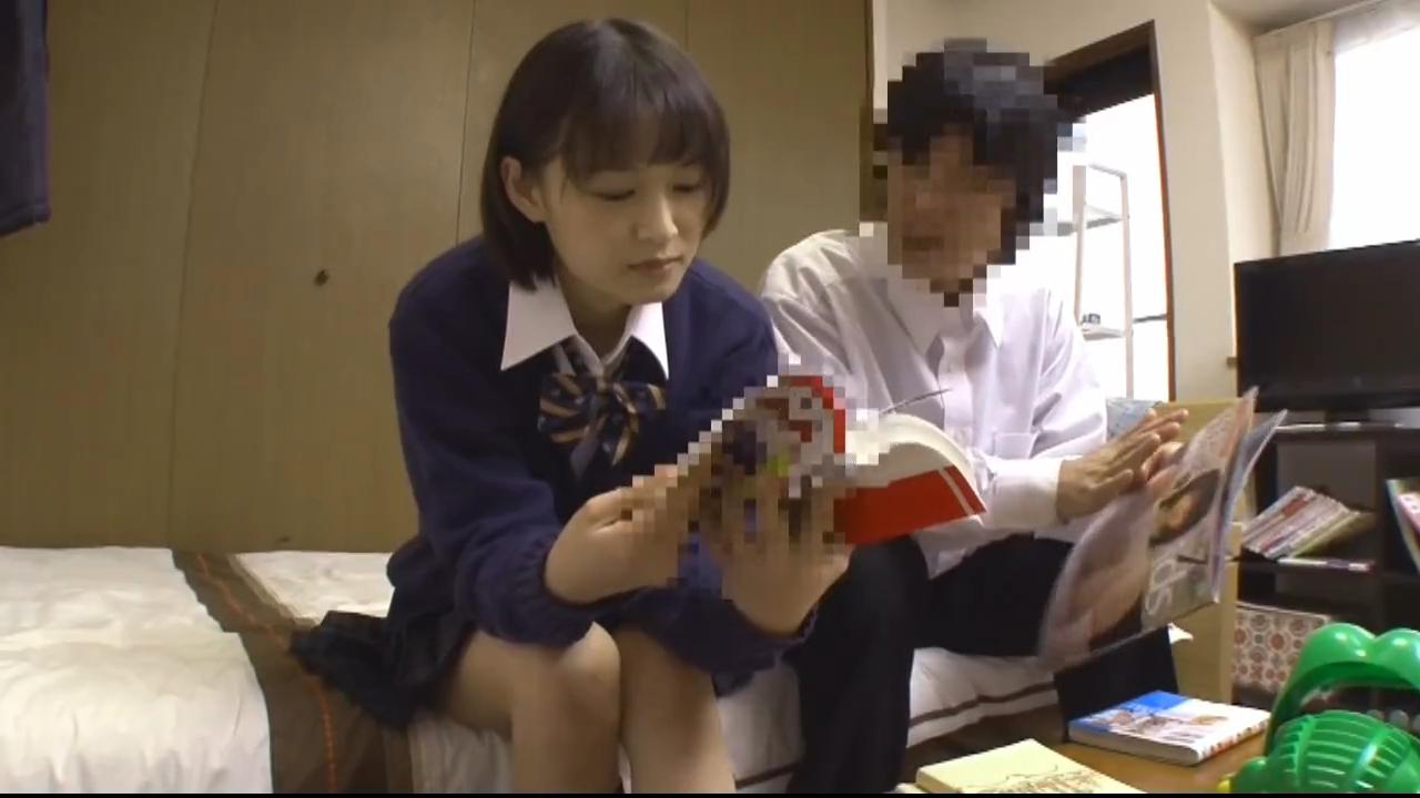 先輩JK_後輩童貞_中出しセックス_adaruto動画01