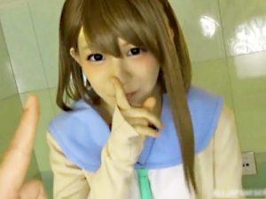 【コスプレ手コキadaruto動画】初めてフェラチオしたのは小学4年生…完全にアウトな告白をした可愛いコスプレイヤーの即尺&手コキww